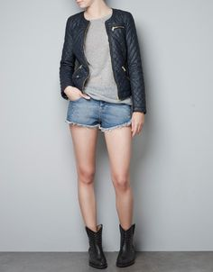QUILTED JACKET - TRF - New this week - ZARA United States