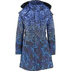 Derhy LIQUEUR Płaszcz zimowy marine