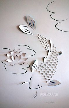 Image result for kirigami art