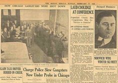 20 Best Gangsters Images Gangsters Mobsters Newspaper Article