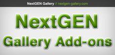 The Complete List of NextGEN Gallery Extension Plugins