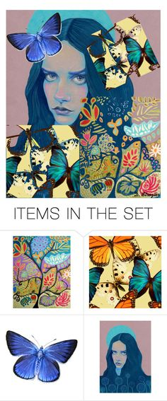 """""""Quilt"""" by deborah-strozier ❤ liked on Polyvore featuring art and modern"""