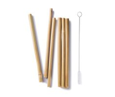 Bamboo Straws – Our Greentopia. If you are grasping for straws, then replace disposable straws with natural bamboo straws. No inks, no dyes, no more throw-away straws. Reusable bamboo straws from Bambu are durable, beautiful and cut from nature. Sisal, Stainless Steel Straws, 6 Pack, Sustainable Living, Sustainable Ideas, Sustainable Products, Sustainable Style, Kombucha, Brush Cleaner
