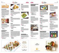Valentine's Day Specials, Lunar New Year Feasts, Japanese Exhibit|Epoch Taste #Food #newspaper #editorialdesign