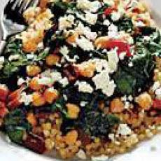 Swiss chard leaves like grape leaves with a more convenient couscous with swiss chard raisins and feta recipe forumfinder Images