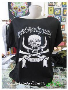 Blusa Gola Canoa - Motorhead R$45,00