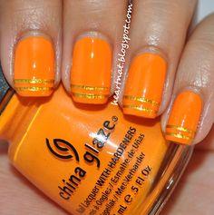 31 Day Nail Challenge--Day 2: Orange