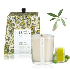 [LUCIA] candle - very nice package