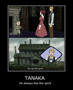 Black Butler i loved and found it funny when i saw tis part of the episode