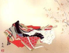 ねずさんの「小倉百人一首」の解説:反日学者が「百人一首」まで捏造していた!? : Kazumoto Iguchi's blog Heian Era, Heian Period, Japanese Beauty, Japanese Art, Meiji Restoration, Japanese Outfits, Hanfu, Studio Ghibli, Sculpture Art