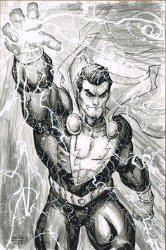 Shazam, Capt. Marvel by Freddie E. Williams II