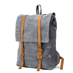 The Large Ruck   Waxed Canvas Backpack