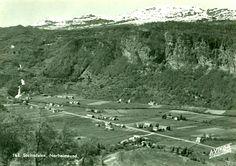 Hordaland fylke Kvam kommune Norheimsund Steinsdalen Utg A. Vikør, Norheimsund 1950-tallet