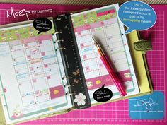 """Life Mapping"", the way I setup my Filofax ... Interesting read and explanation of life mapping (Read 07/14/2013 - ThT)"
