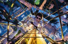 Fotografias Aéreas de tirar o fôlego de qualquer um! Se tem medo de altura, não veja. ;)