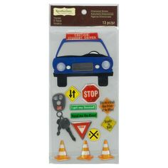 Driver's Education Dimensional Stickers by Recollections Signature