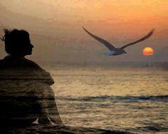 Llenare mi alma de ti, en la soledad y la calma, mirando el horizonte que me recuerda que tu amor cambio mi vida la colmo de esperanzas y alivio mi dolor, eres tú el ayer que me envuelve como una brisa de otoño como un verano ardiente, amo tu esencia porque me recuerda que estoy viva que la nada se convierte en todo, no me olvides quedate en mis ojos hasta la eternidad