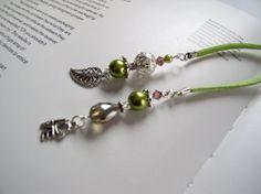 JANUARY Handmade Beaded Bookmark for Books  by VitezArtGlassDesign, $12.00