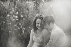 Meadow engagement photos by Love & Perry Photography
