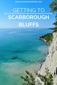 Read about how to get to the top of Scarborough Bluffs in Toronto. There are two ways of getting to this infamous view. Couples Vacation, Need A Vacation, Vacation Spots, Vacation Ideas, Scarborough Ontario, Scarborough Bluffs, Montreal Travel, Toronto Travel, Ontario Travel