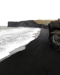 Black sandy beaches, Iceland * All Around the World * The Inner Interiorista