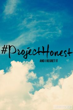 I lied that I had editing experience when I just came to Pinterest but when I started I liked it and tried to improve in it #projecthonest