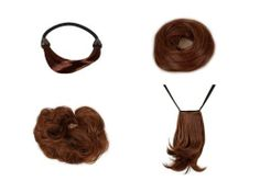 Bundle Monster 4pc Womens 30cm Synthetic Long Wig Hair Drawstring Ponytail Extension Bun Clip Kit - Set 1A, Color: BURNT CARAMEL - UPC: 700580457477 by Bundle Monster. $13.99. Each extension can be treated and cared for like real hair. Can withstand heat up to 350 degrees Fahrenheit.. All sets are pre-selected and sold as viewed in the photo selection.. Gain longer and fuller hair with these quality synthetic hair extensions!. *NOTE: View selection menu carefully to...