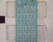 Playroom Rules Sign Typography Word Art by barnowlprimitives