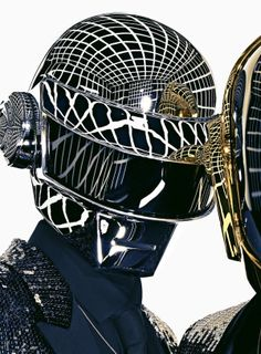 Daft Punk & Saint Laurent.