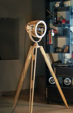 Floor Lamp Plywood