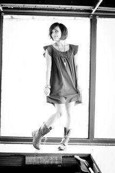 dress, shoes, bob...love it! (=