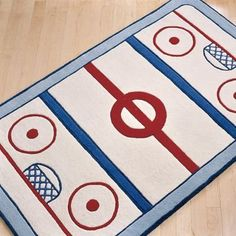 Hockey room for baby boy!