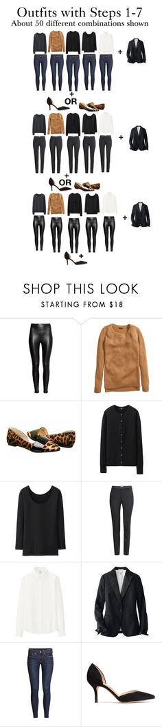 """Outfits using Start From Scratch Wardrobe Steps 1-7"" by charlotte-mcfarlane ❤ liked on Polyvore featuring H&M, Chinese Laundry and Uniqlo"