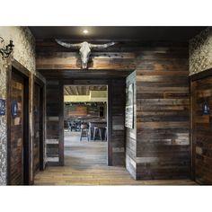 "Poppa's Barn 52"" x 4.87"" Reclaimed Solid Wood Wall Paneling | Wayfair Tin Walls, Wood Panel Walls, Wood Wall Paneling, Wall Wood, Rustic Walls, Barn Wood Walls, Barn Tin Wall, Barn Board Wall, Pole Barn Homes"