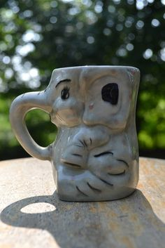 This is cute and creative. I love how the body of the mug is the body of the elephant. It is very well done