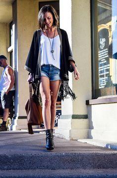 Casual Kimono (+ an Afternoon in Jerome, AZ) - Work|Wear|Wander