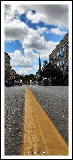 📸 @thatcambridgewoman Main Street, Railroad Tracks, Cambridge, Ontario, Maine, Sidewalk, Country Roads, Canada, Photography