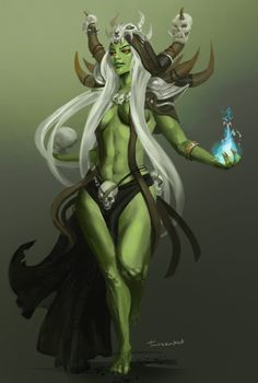 female orc - Google Search