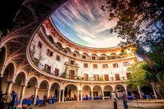 Plaza del Cabildo, Sevilla #Spain