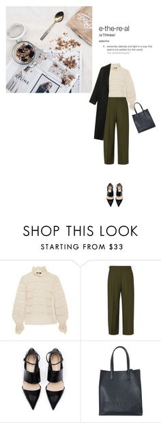"""""""Untitled #577"""" by duoduo800800 ❤ liked on Polyvore featuring Isabel Marant, Maison Margiela, Givenchy and Topshop"""