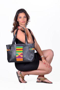 Small Mud Cloth Handbag (Button)  23c4244b62177