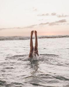 All a little upside down 💭 but Beach Relax, Beach Day, Summer Beach, Waves After Waves, Summer Memories, Woman Beach, Staying Positive, Beach Photography, My Photos