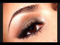 Vid Tutorial from YouTube Makeup Guru JulieG- Wearable Metallic Cat Eye