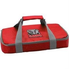 Alabama Crimson Tide 3 Qt. Insulated Combo Carrier w/Anchor Locking Glass Insert