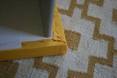 Ikea Malm drawers change table nursery upholstery makeover - IKEA Hackers