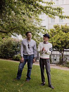 Steve Jansen and Yukihiro Takahashi