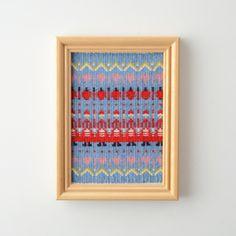 Bunden Rosengang - ブンデン・ローゼンゴング織りのフレーム