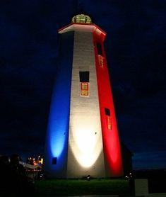 Miscou Island #Light - Miscou Island, New Brunswick, #Canada    http://dennisharper.lnf.com/   ..rh
