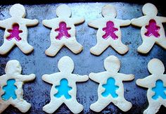Not sure if I'll make these for my cousin's baby shower later this month, but for the right friend these would be cute/hilarious! :-)