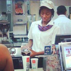 #ghetto McDonald's #lol it's probably DG cola - popculturez.com